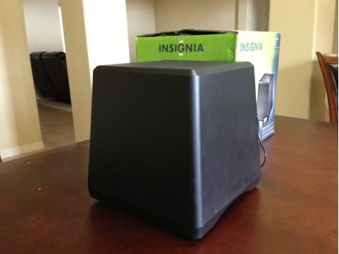 New Insignia Rocketboost 6-12 70W WiredWireless-Ready Subwoofer - $55 (North Laredo)