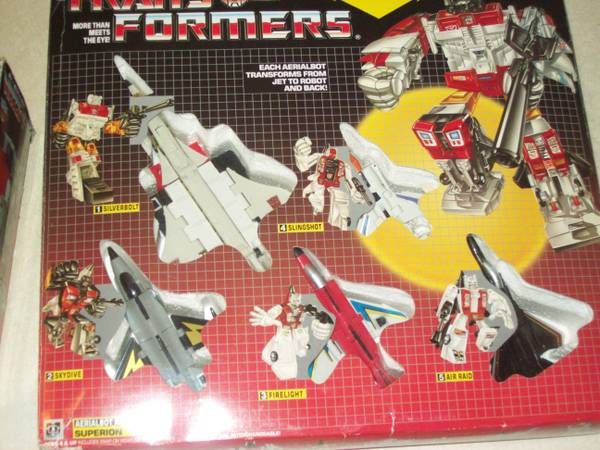 TRANSFORMERS G1 SUPERION COMBINER  -   x0024 70  SOUTH SIDE