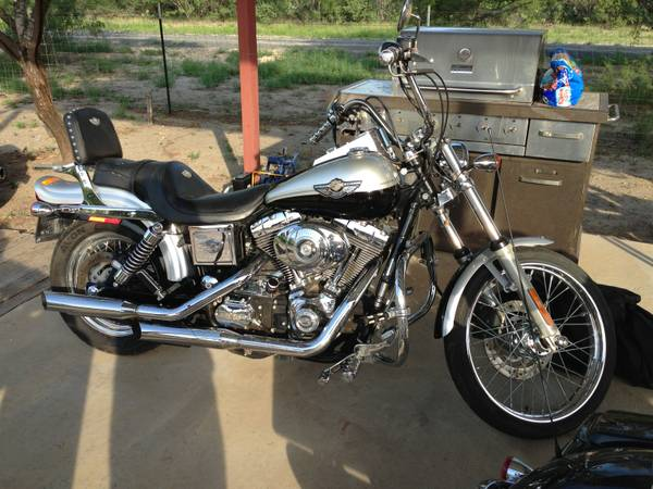 Dyna Motorcycles For Sale Austin Tx >> 2003 Harley Davidson Dyna Wide Glide 100th Anniversary - $11500 (OBO Carrizo Springs ...