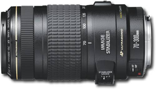 Canon EF 70-300mm f 4-5 6 IS USM Lens -  275