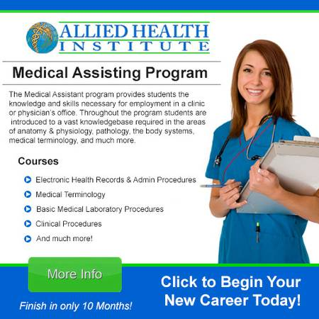 5 11-5 14  Medical Assisting - Study at Home - Training Online  laredo
