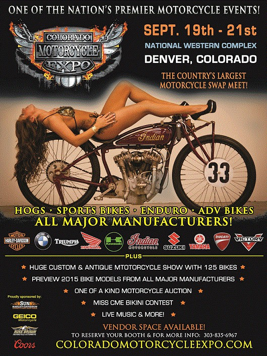 Colorado Motorcycle Expo- One of the Countrys Largest
