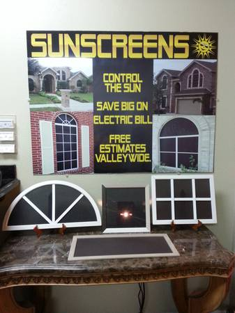 Solar Screens - Sunscreens - Telas Solares (McAllen)