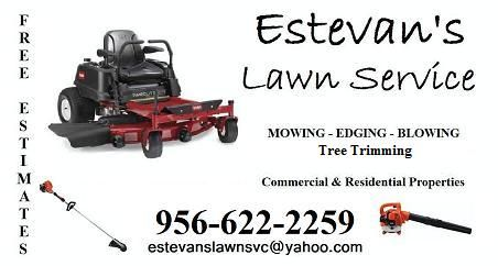 Yard Mowing (Los Fresnos to Weslaco)