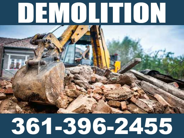 McAllen Texas Demolition  Backhoe Services