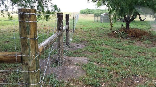 Ranch style fences  private