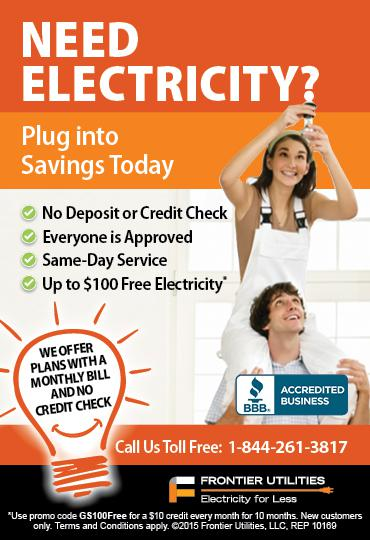 Same Day Electricity - No Deposit