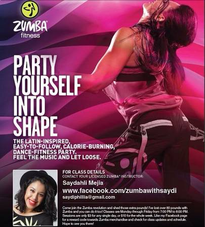 Zumba Fitness - I lost over 80lbs with Zumba  you can too   Edinburg  TX
