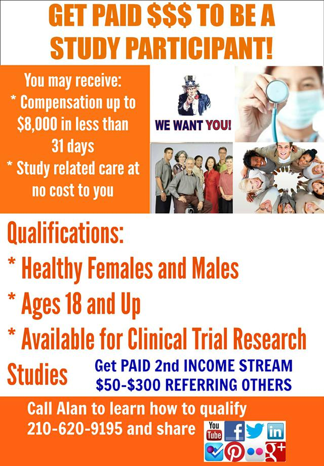 GET PAID Volunteering For Clinical Research Studies Inside My Guide