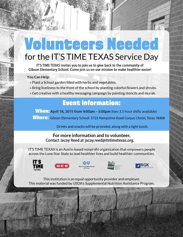 ITS TIME TEXAS - Corpus Christi Regionial Service Day