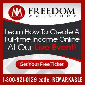 Free Live Event - Freedom Workshop June 3rd