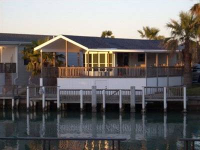- $1300 380ftsup2 - Water Front Park Model 1mo. Lease Long Island Village (Port Isabel, Tx.)