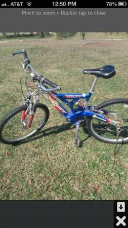 Motiv mountain Bike - $85 (Elsa)