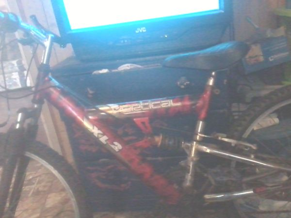red vertical xl2 bike  - $55 (Weslaco tx)