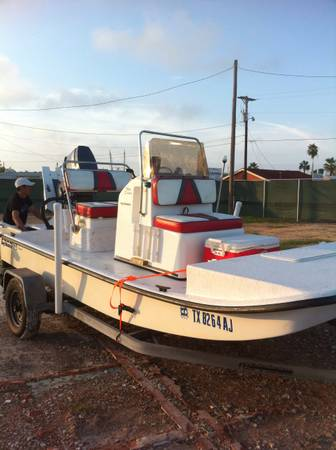 2007 baymaster 15ft with Yamaha 75 tunnel -   x0024 7900  Bro