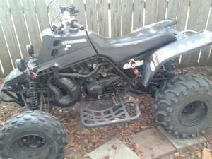 trade 2 atvs for boat (harlingen)