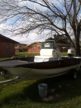 BAYHAWK BOAT WITH TRAILER  - $5000 (MIDVALLEY)