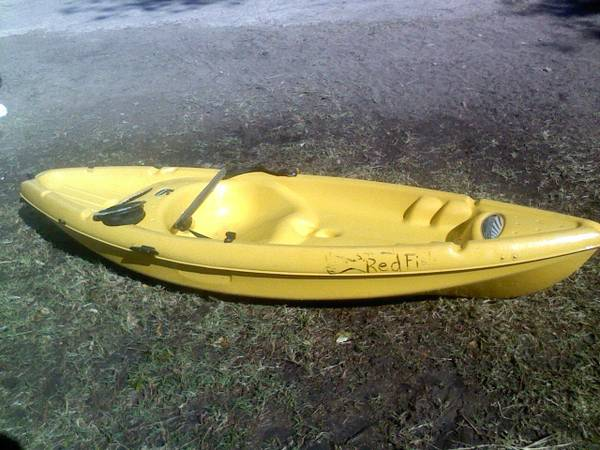 sunstream 8ft, kayak - $120 (mission)