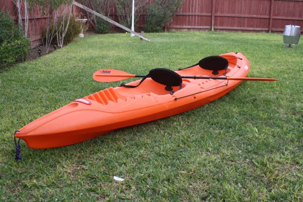 Pelican Apex 129T Sit-in Kayak - $275 (Mission Tx)