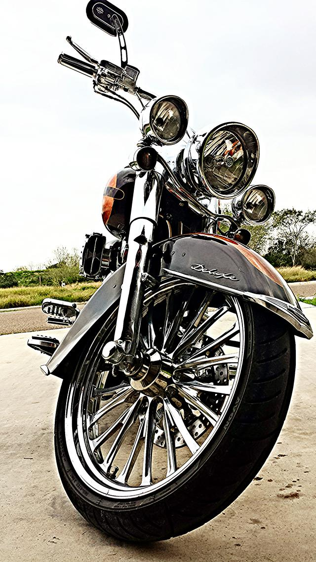20 000  2007 Harley Davidson Softail Deluxe