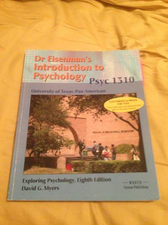 UTPA Psychology 1310  - $35 (Mission )