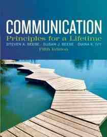 communication principles for a lifetime 5th edition EBOOK -   x0024 20  Weslaco  Tx