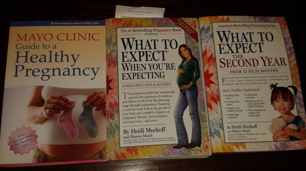Baby Books-What to expect - set of 3 -   x0024 20  mission