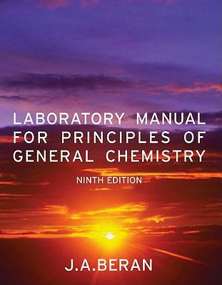 utpa chemistry lab manual 9th edition - $10