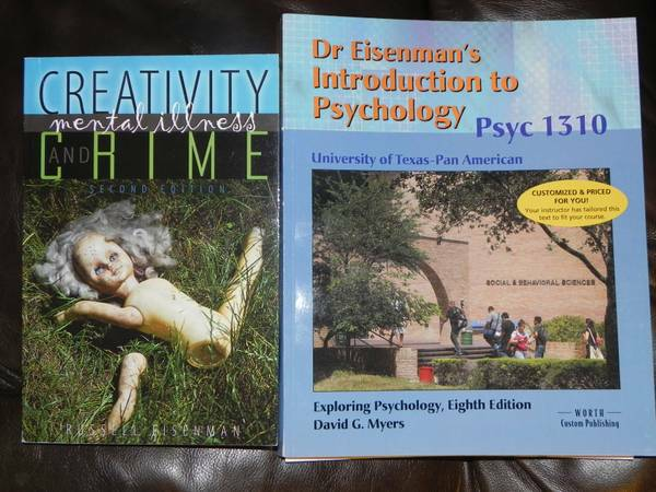 PSYCHOLOGY BOOKS - $65 (MISSION)