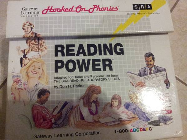 Hooked on Phonics Reading Power - $40 (Plamview)