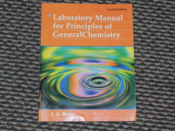 GENERAL CHEMISTRY BOOK - $15 (MISSION)