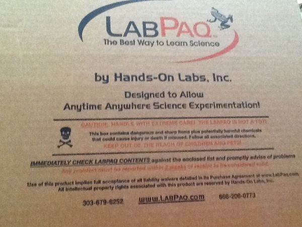 Lab Paq the best way to learn science - $260 (Mission Tx)