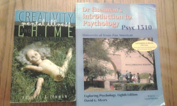 Eisenman psychology books - $70 (edinburg)
