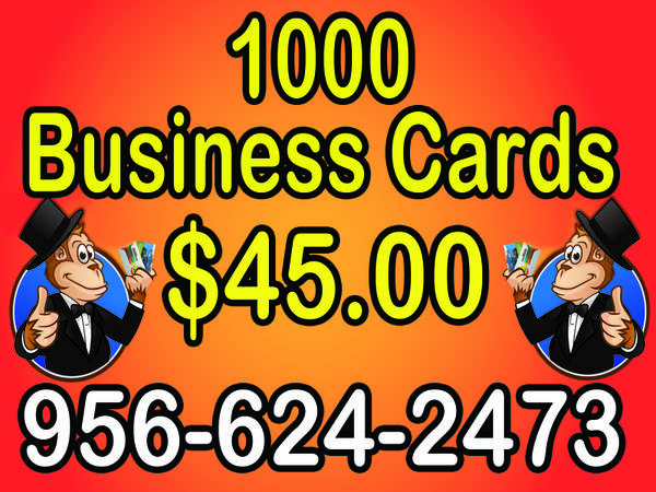 Need a Wholesale Shop for your printing needs (RGV)