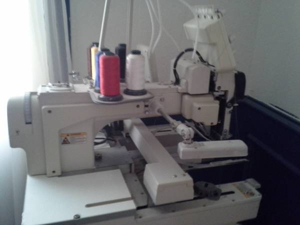 professional embroidery machine - $5000 (hidalgo)