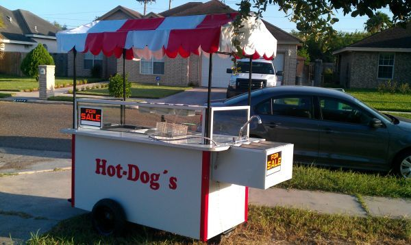 carro hot dog taquero - $1600 (pharr)