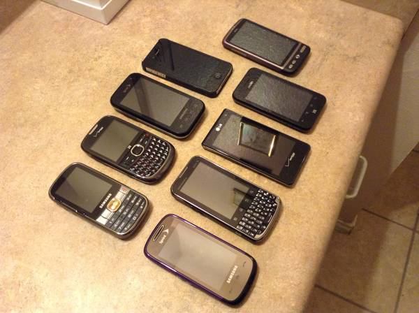 CRICKET PHONE FOR SALE SEVERAL MODELS AND PRICES (Brownsville Texas since 2007 )