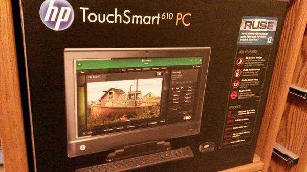 HP touchsmart 610 PC intel i5 -   x0024 600  mcallen