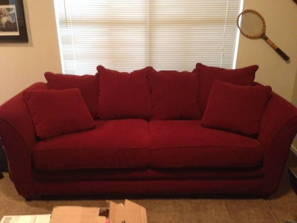 Furniture Row Couch (as new) for Sale - $249 (Edinburg)