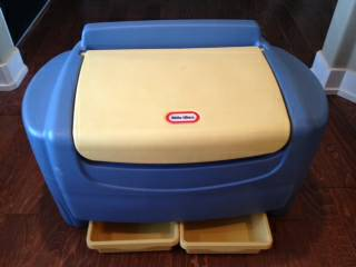 Childrens Little Tikes Toy Box - $50 (Edinburg)