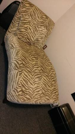 Chaise Chair Zebra Print - $220 (Mission)
