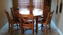 Dining Table and six chairs - $600 (McAllen, TX)