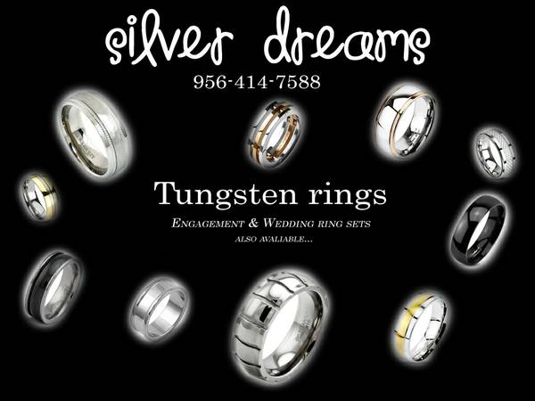 Tungsten rings     Wedding  amp  Engagement Ring Sets      Starting    45  Edinburg  Tx