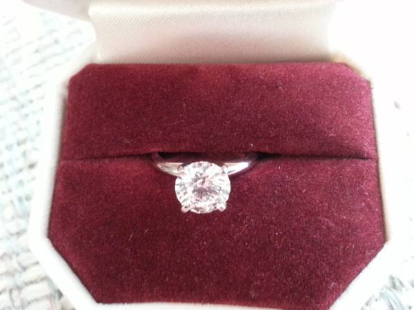 Engagement Ring -   x0024 8000  San Juan