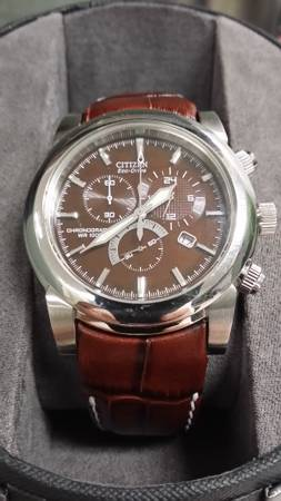 Citizens Eco drive leather -   x0024 150  nth McAllen