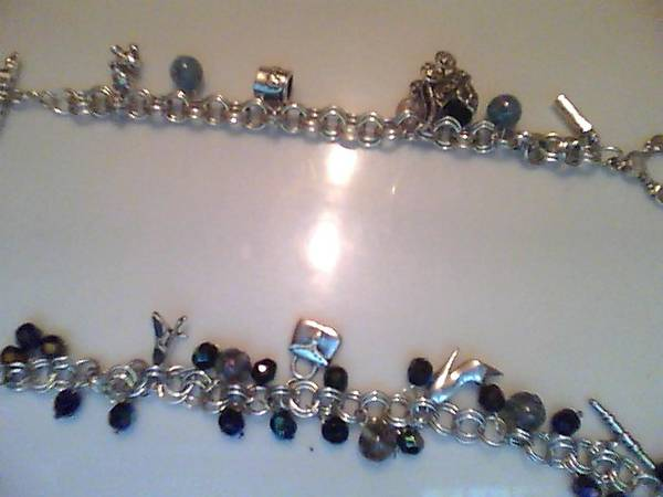 30 GR S925 STERLING SILVER CHARM BRACELET CHARM INCLUDED  -   x0024 75  edinburg tx