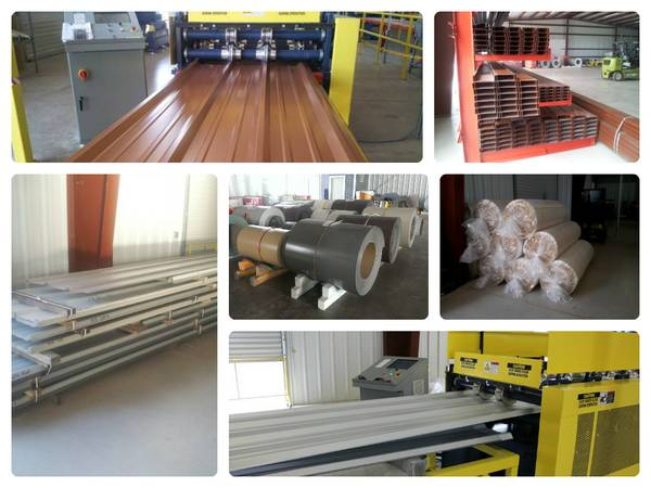 LAMINA GALVANIZADA Y COLOR PARA TECHOS Y MUNCHO MAS (VALLEY STEEL METAL BUILDING COMPONENTS)