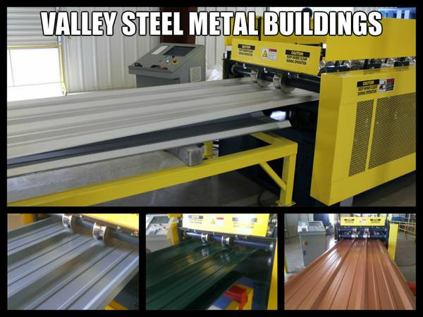 LAMINA GALVANIZADA Y DE COLOR GALVANIZED AND COLORED R-PANEL (VALLEY STEEL METAL BUILDING COMPONENTS)