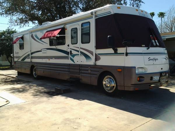 1999 Itasca Sunflyer 36  275 Turbo Diesel -   x0024 34000  Mission  Tx