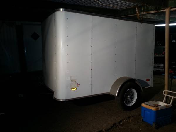 2007 5x8 OUTBACK BY PACE ENCLOSED TRAILER - $1600 (DONNA)